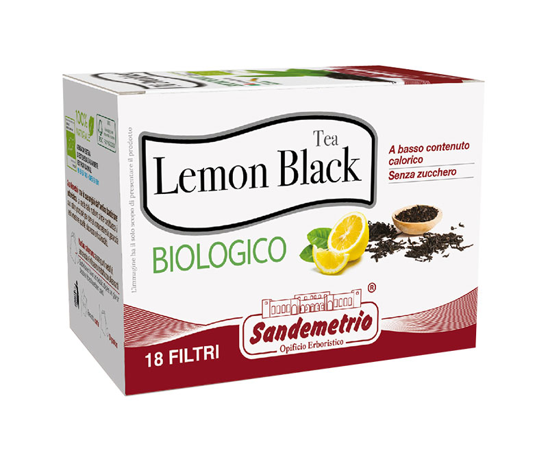 Lemon Black Tea - Biologico (18 filtri da infusione)